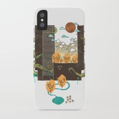 A World Within iPhone X Slim Case