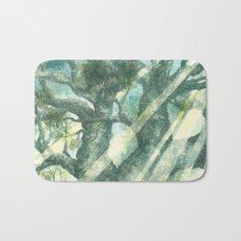 Acuarella wood Bath Mat