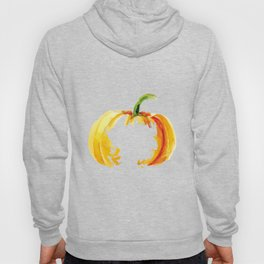 Thanksgiving Pumpkin Abstract Modern Art Hoody