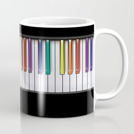 Colour Your Music Coffee Mug
