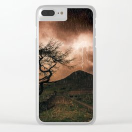 Thors Hammer Clear iPhone Case
