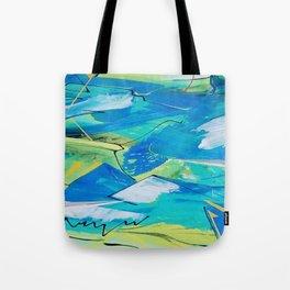 Blue Winds Tote Bag