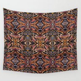 Moroccan Flowers Wall Tapestry