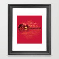 Musical Sunset Framed Art Print
