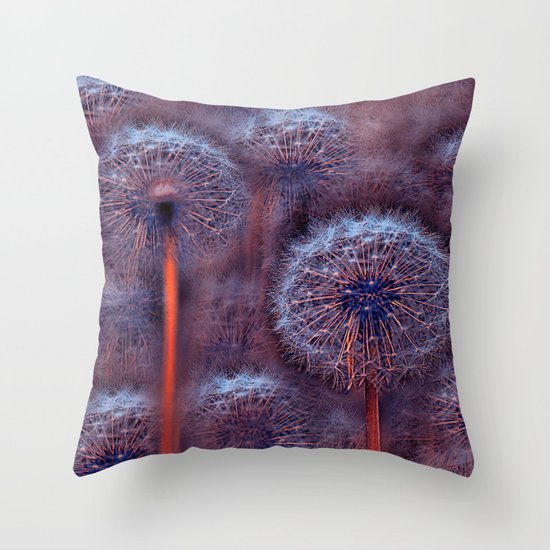 Floral abstract(5). Throw Pillow