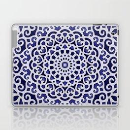 16 Fold Mandala in Blue Laptop & iPad Skin