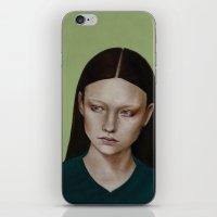 dahlia iPhone & iPod Skins featuring Dahlia by Kalynn Burke