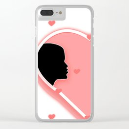 Valentine's Day_Special_Design Clear iPhone Case