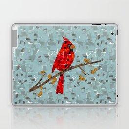 Red Cardinal Collage Laptop & iPad Skin