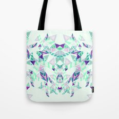 Kaleidoscopic print illustration  Tote Bag