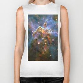 Mystic Mountain (a region in the Carina Nebula)(NASA/ESA Hubble Space Telescope) Biker Tank