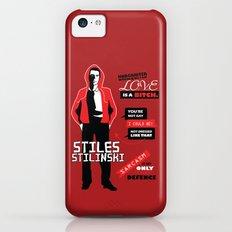 Stiles Stilinski Quotes Teen Wolf iPhone 5c Slim Case