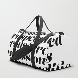 """I Am... Loved."" Affirmation Duffle Bag"