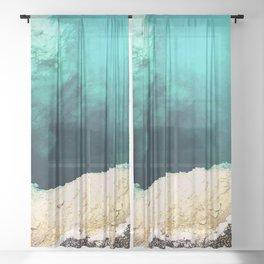 A Day at Yellowstone Sheer Curtain