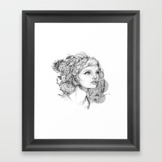 It Takes Over Framed Art Print