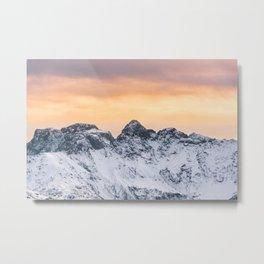 South Tyrol, Italy Metal Print