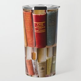 The Colorful Library Travel Mug