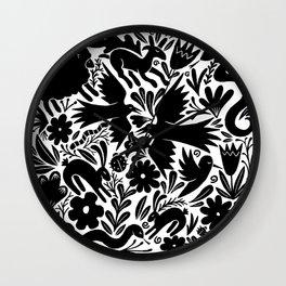 Nursery rhyme garden 001 Wall Clock