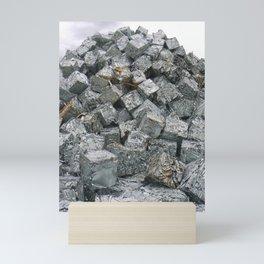 Aluminium Cubes ... Mini Art Print