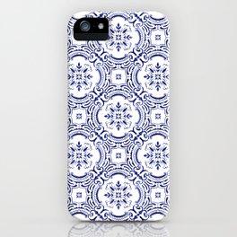 Portuguese Tile - Exclusive Hand-Painted Design iPhone Case