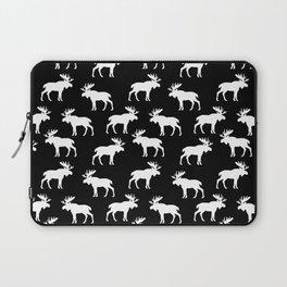Moose Trot // Black Laptop Sleeve