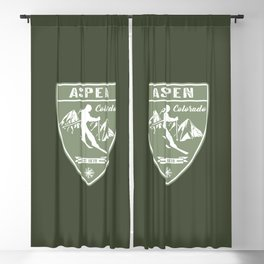 Aspen Colorado Blackout Curtain