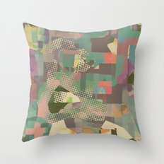 Abstract Painting No. 11 Throw Pillow