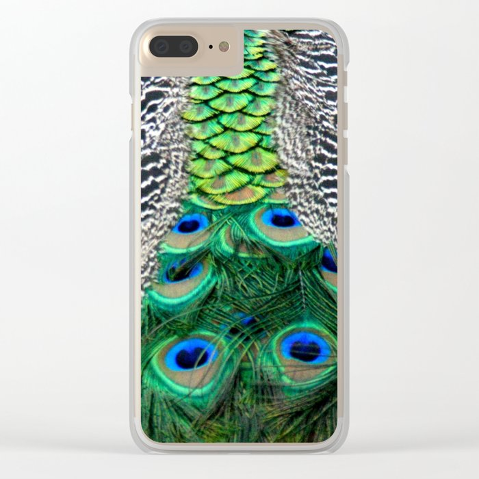 Nature's pattern Clear iPhone Case