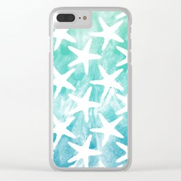 Stars from the Sea Clear iPhone Case