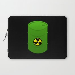 atomic waste barrel Laptop Sleeve