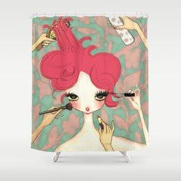 Liselle's Makeover Shower Curtain