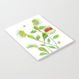 Venus Fly Trap Watercolor Notebook