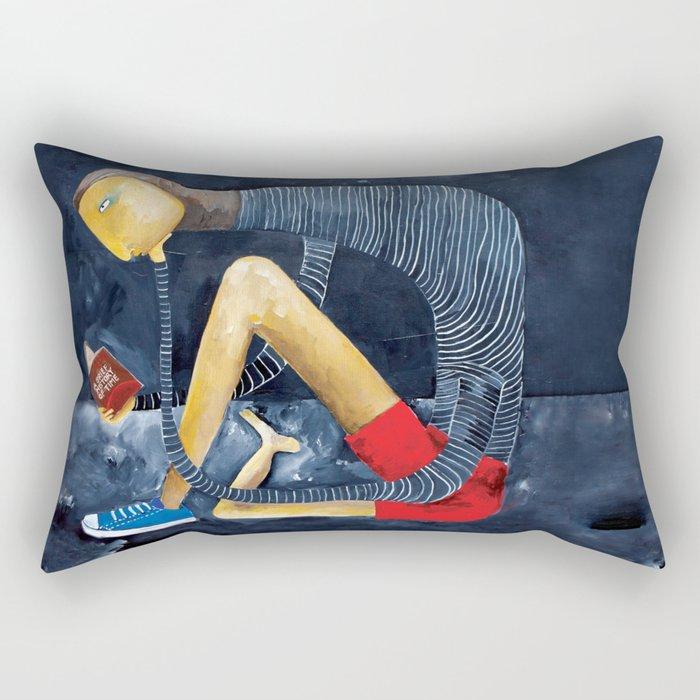 Leonardo's Left Shoe Rectangular Pillow