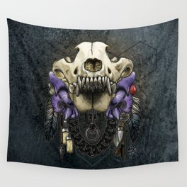 Let Us Prey: The Wolf Wall Tapestry