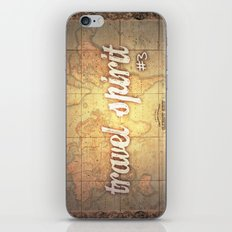 Travel Spirit #3 iPhone & iPod Skin