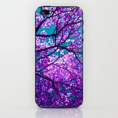 purple tree II iPhone & iPod Skin