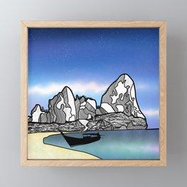 Tropical Beach Thailand Framed Mini Art Print