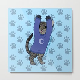 thesweatercats Luna Kitty dance v2 Metal Print