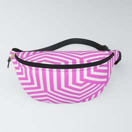 Purple pizzazz - pink - Minimal Vector Seamless Pattern Fanny Pack