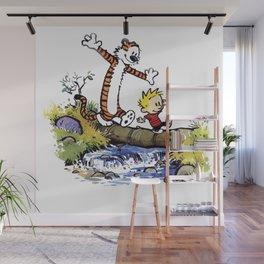 calvin and hobbes Wall Mural