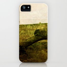 Textured Field iPhone Case
