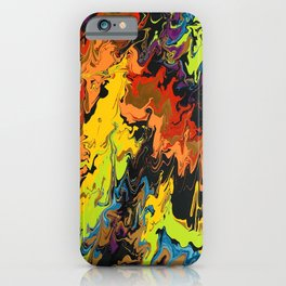 Color mountain iPhone Case