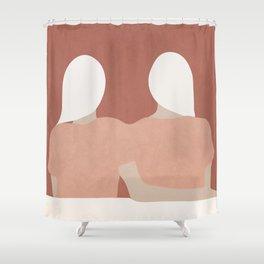Looking Forward Shower Curtain