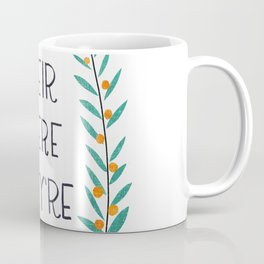 Their There They're - Grammar Lessons Coffee Mug