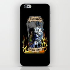 Unhappily Ever After - Lady Death & Evil Ernie iPhone & iPod Skin