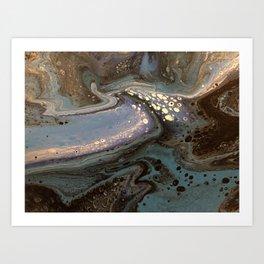 Sea nights Art Print