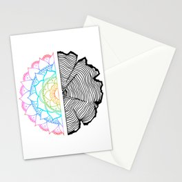 Tree of Life - Rainbow Psychedelic Stationery Cards