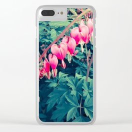 Bleeding Beauties Clear iPhone Case