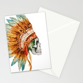 Skull 03 Stationery Cards