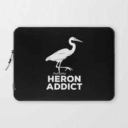 Heron Addict - Bird Watching Laptop Sleeve